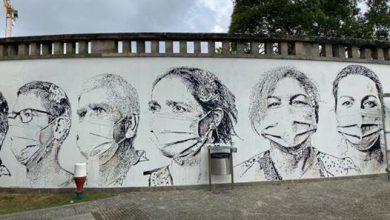Photo of A homenagem de Alexandre Farto a médicos, enfermeiros e auxiliares portugueses