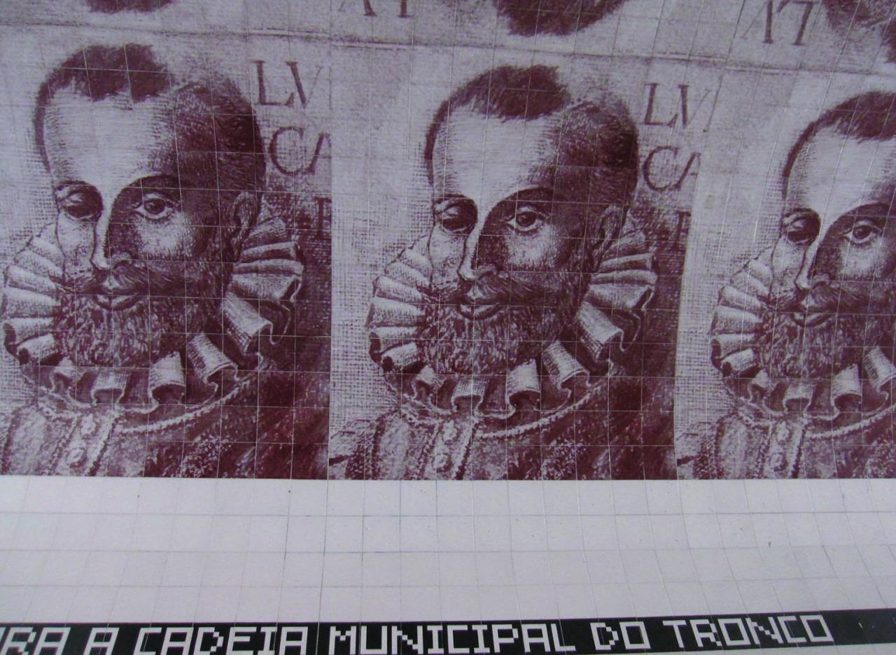 Azulejos Camões de Leonel Moura