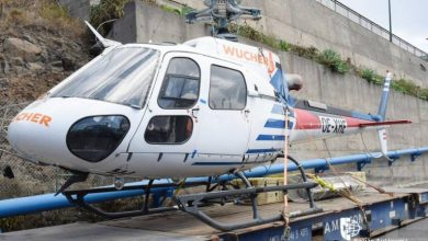 Photo of Helicóptero de combate a fogos já está na Madeira