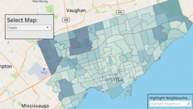 Photo of 2,000 COVID-19 cases missing from Toronto's map of hot spots