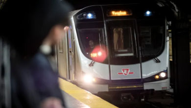 Photo of 1 person charged in connection with racist slurs, anti-Black graffiti reported in Toronto subway train