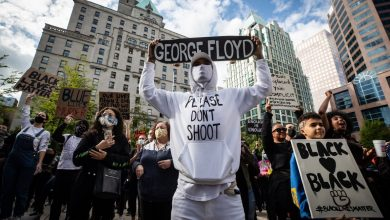 Photo of Thousands in Vancouver rally against police violence as George Floyd protests shake U.S.
