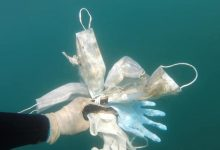 Photo of Those COVID-19 masks, gloves and wipes we're all using are polluting land and sea