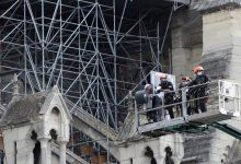 Photo of Repairs restart on fire-ravaged Notre Dame after pandemic hiatus