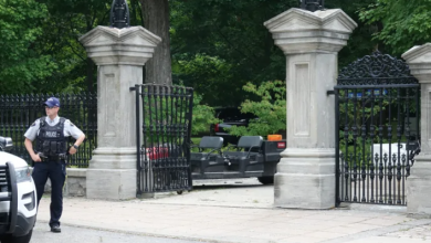 Photo of Canadian Armed Forces member arrested after gaining access to Rideau Hall grounds