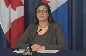 Dr. Eileen de Villa, the city's medical officer of health-Milenio Stadium-GTA