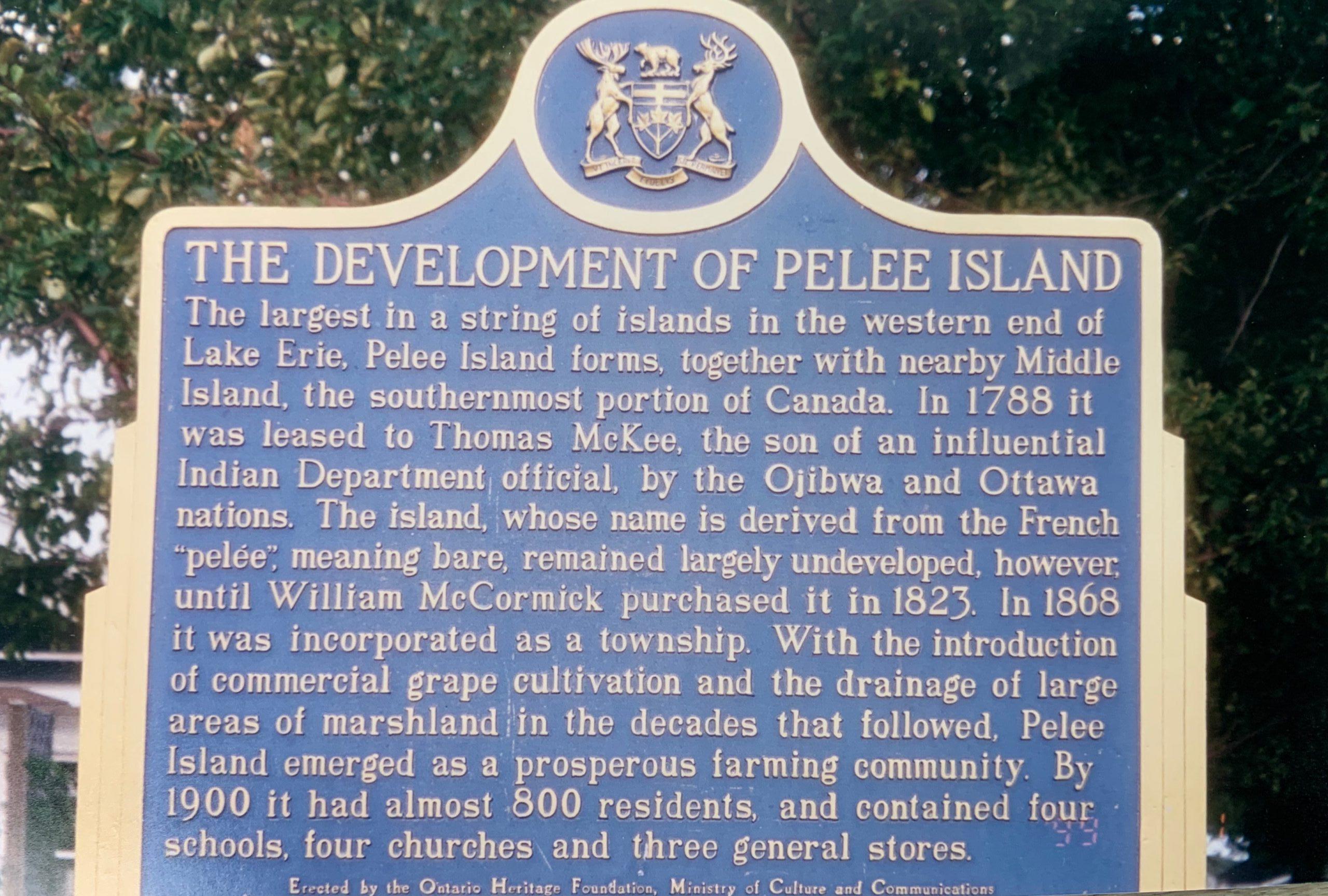 Pelee Island, praia e bom vinho-historia-temacapa-mileniostadium