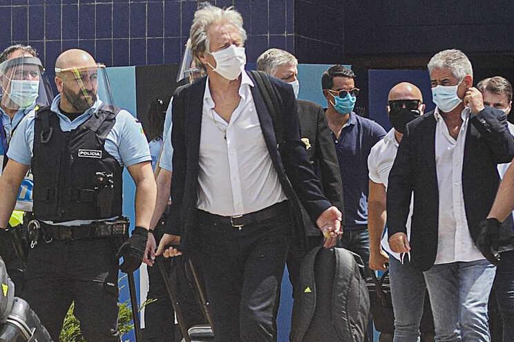 Jorge Jesus chega a Portugal - milenio stadium - portugal
