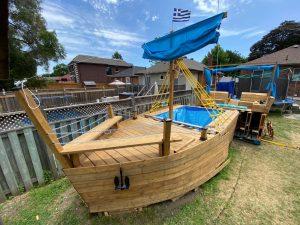 Pirate ship pool-Milenio Stadium-GTA