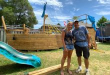 Photo of Toronto family forced to dismantle, move backyard 'pirate ship' after complaint to city