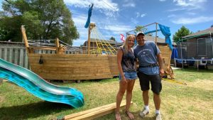 Toronto family forced to dismantle pirate ship-Milenio Stadium-GTA