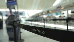 Toronto's Pearson airport cuts 1:4 of staff due to reduced travel demand amid COVID-19 pandemic-Milenio Stadium-GTAjpg