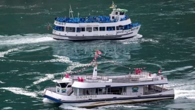 Tour boats at Niagara Falls show contrast between U.S., Canadian approach to COVID-19-Milenio Stadium-Canada