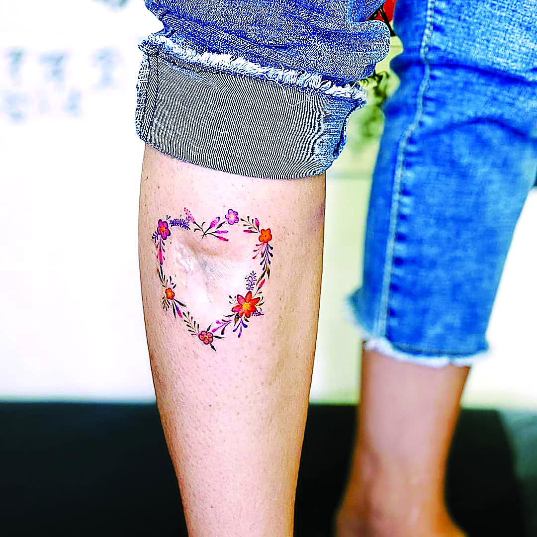 Tatuar a superação-coração-saude-mileniostadium