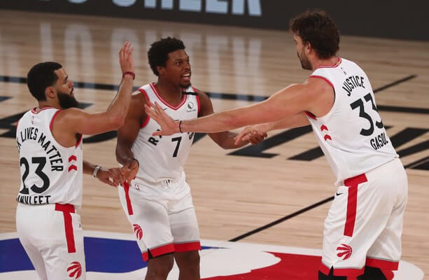 Defending NBA champion Raptors claw out victory over Nets, Jazz win - MILENIO STADIUM - TORONTO (1)