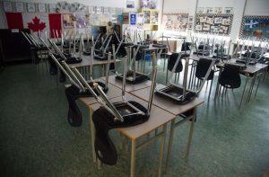 Empty classroom-Milenio Stadium-Canada