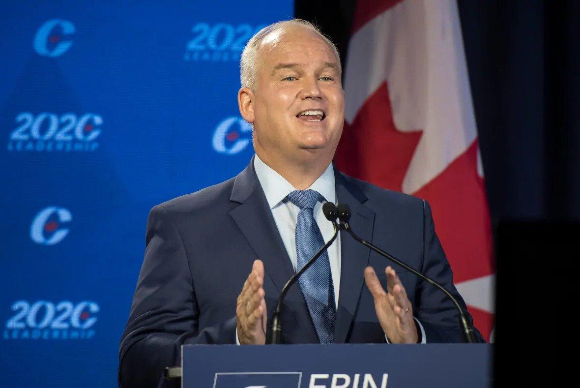Erin O'Toole wins Conservative leadership race - milenio stadium - canada