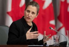 Photo of Freeland to replace Morneau as Trudeau's finance minister