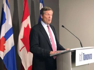 Toronto Mayor John Tory-Milenio Stadium-GTA