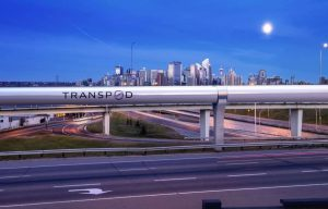 Transpod Calgary Skyline-Milenio Stadium-Canada
