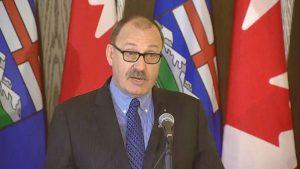 Transportation Minister Ric McIver-Milenio Stadium-Canada