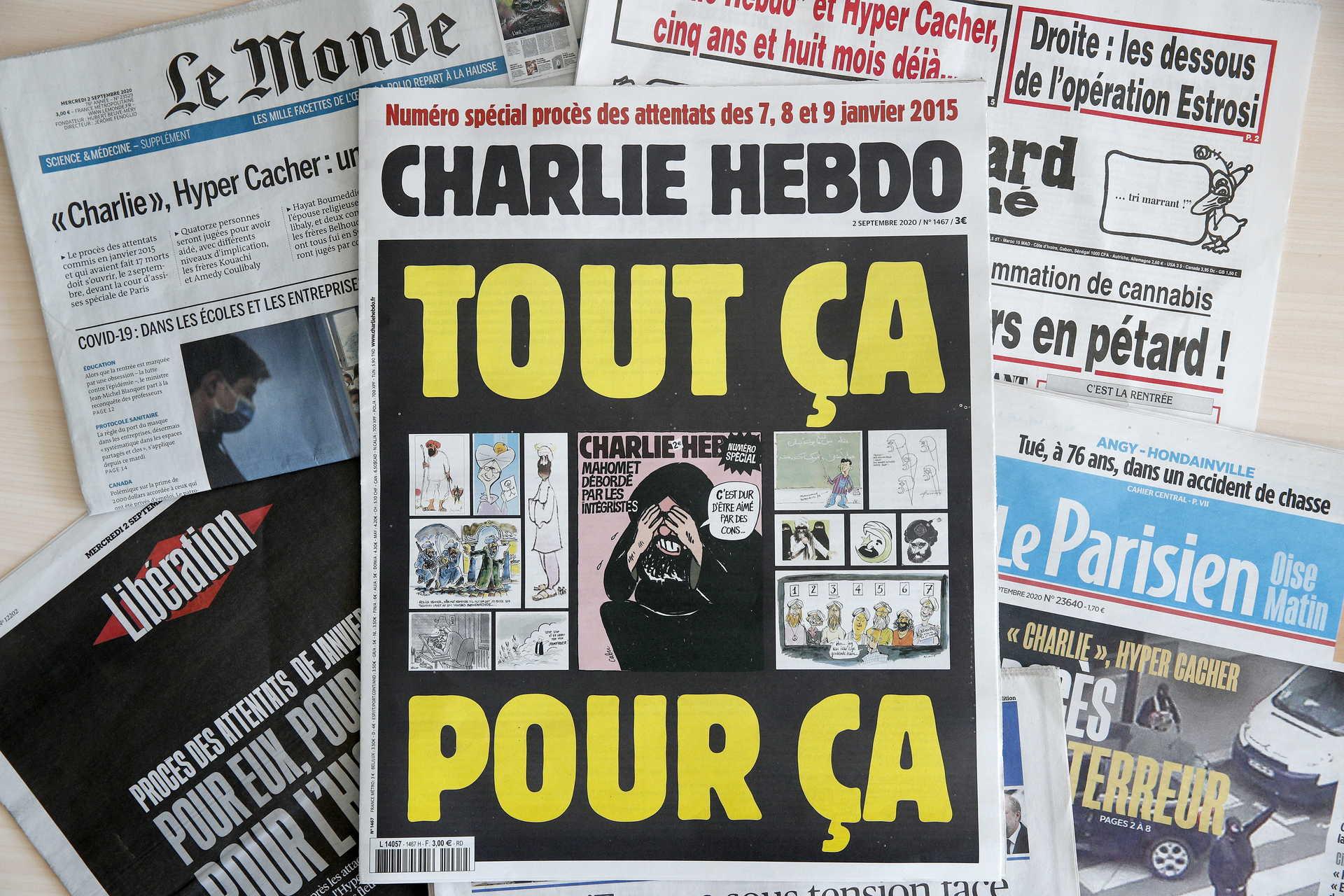 Charlie Hebdo attacks trial in Paris