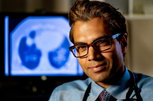 Samir Gupta, a clinician-scientist at St. Michael's Hospital in Toronto-Milenio Stadium-Canada