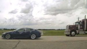 Speeding Tesla driver caught napping behind the wheel on Alberta highway-Milenio Stadium-Canada