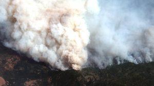 Smoke from U.S. wildfires spreads-mileniostadium-us-canada