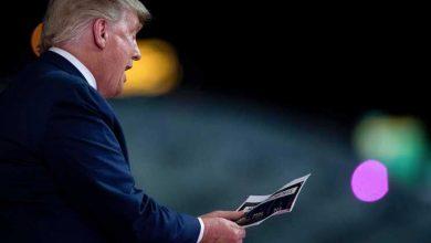 """Photo of Trump admite dívidas de 400 milhões. Nenhuma a """"tipos sinistros"""""""