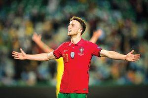 Jota na pele de Ronaldo-portugal-mileniostadium