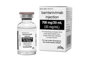 Antibody drug bamlanivimab-Milenio Stadium-Canada