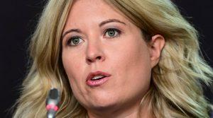 Conservative member of Parliament Michelle Rempel Garner-Milenio Stadium-Canada