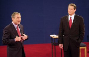The result of the 2000 presidential race between George W. Bush, left, and Al Gore was contested for weeks-Milenio Stadium-Canada