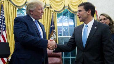 Trump demite o líder do Pentágono