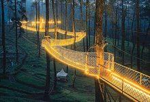 Caminhos iluminados-indonesia-mileniostadium