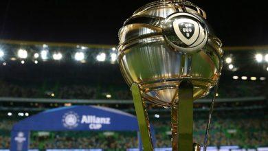 Milenio Stadium - Taça da Liga - trofeu