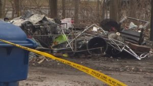 Toronto has had 11 encampment fires since Friday but officials say serial arsonist not at work-Milenio Stadium-Ontario