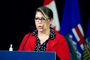 Alberta Municipal Affairs Minister Tracy Allard-Milenio Stadium-Canada