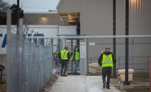 Canada Post worker-Milenio Stadium-Ontario