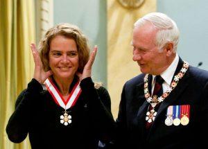 Canadian astronaut Julie Payette