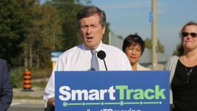 John Tory's SmartTrack plan shrinks again as city prepares to debate line's future-Milenio Stadium-Ontario