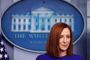 White House Press Secretary Jen Psaki-Milenio Stadium-Canada