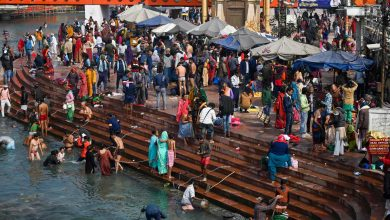 Peregrinos começam a chegar aos milhares-india-mileniostadium