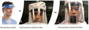Face shield-Milenio Stadium-Canada