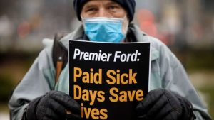 'Small investment, big payback'-Business owners call on Ford government to legislate paid sick leave-Milenio Stadium-Ontario