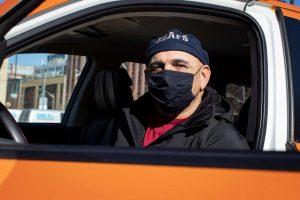 Toronto taxi driver Jafar Mirsalari-Milenio Stadium-Ontario