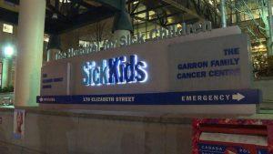 Toronto's Hospital for Sick Children-Milenio Stadium-Ontario