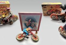 The evolution of tin toy motorcycles-toronto-mileniostadium