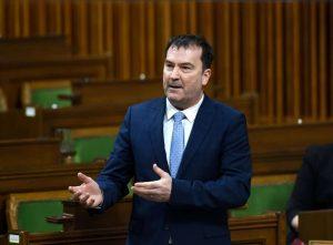 Bloc Quebecois MP Alain Therrien-Milenio Stadium-Canada